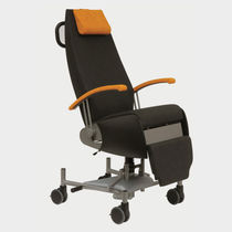 Medical armchair / contemporary / fabric / adjustable-height