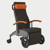Medical armchair / contemporary / polyurethane / steel