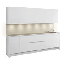 Hairdresser cabinet with washbasin
