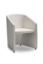 Bridge armchair / contemporary / polyurethane