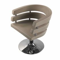 Steel beauty salon chair / central base