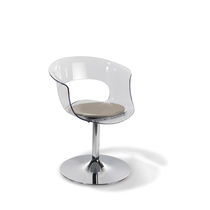 Acrylic beauty salon chair / central base
