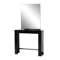 Contemporary dressing table / laminate / wall-mounted / for hairdressers