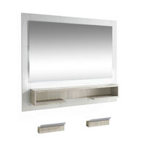 Contemporary dressing table / wall-mounted / for hairdressers