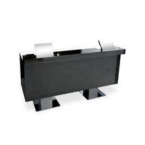Laminate reception desk / for hairdressers