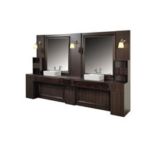 Traditional dressing table / plastic / for hairdressers / with indirect lighting
