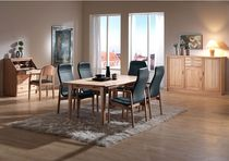 Contemporary dining table / beech