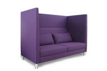 Contemporary sofa / fabric / for public buildings / 2-seater