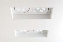 Recessed ceiling spotlight / indoor / LED / linear