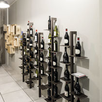 Commercial wine cabinet / residential / aluminum / steel