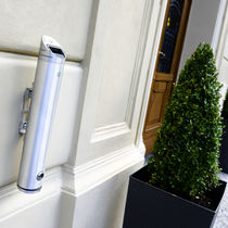 Wall-mounted ashtray / stainless steel / outdoor / for public spaces