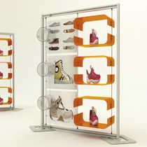 Shoe display rack / aluminum