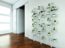 Modular bookcase / wall-mounted / contemporary / for offices