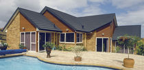 Steel roof tile / metal / colored / stone-coated Zincalume®