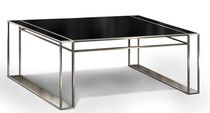 Multimedia desk / contemporary / glass