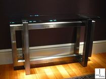 Sideboard table / contemporary / metal