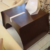 Side table / contemporary / wooden
