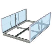 Lighting skylight / smoke control / for roofs / for building renovation