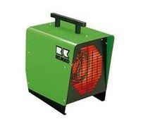 Electric hot air generator / portable