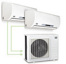 Wall-mounted air conditioner / multi-split / commercial / individual