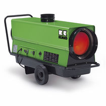 Fuel oil hot air generator / portable