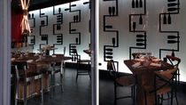 Acrylic decorative panel / wall-mounted / backlit