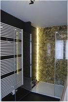 Acrylic decorative panel / bathroom