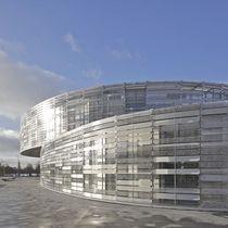Acrylic solar shading / for facades