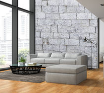 Industrial style wallpaper / patterned / non-woven / imitation brick