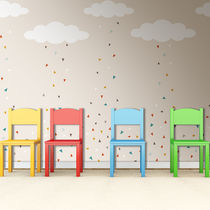 Original design wallpaper / non-woven / printed / child's