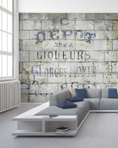 Industrial style wallpaper / original design / panoramic