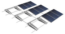 Tiled roof mounting system / for flat roofs / aerodynamic / for photovoltaic installations