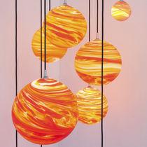 Original design chandelier / blown glass