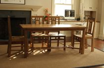 Traditional table / teak / extending