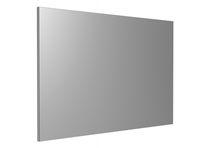 Wall-mounted mirror / contemporary / rectangular / commercial