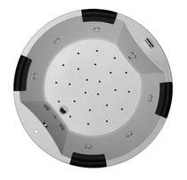 Round bathtub / acrylic / whirlpool