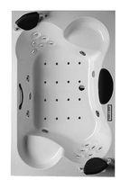 Acrylic bathtub / 4-seater / whirlpool