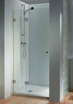 Swing shower screen / for alcoves