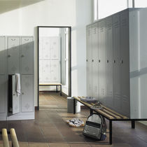 Steel locker / for public buildings / for industrial use / secure
