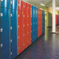 Metal locker / for schools / secure