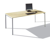 Contemporary table / HPL / rectangular / for offices