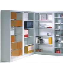 Traditional shelf / steel / for offices / commercial