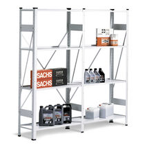 Universal shelving / light-duty / for medium-heavy loads / storage