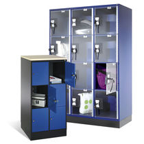 Steel locker / for public buildings / secure