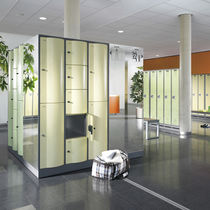 Steel locker / for public buildings / vandal-proof