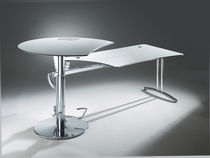 Metal desk / contemporary / commercial / height-adjustable