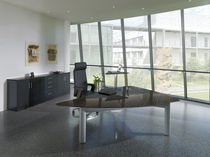 Executive desk / wooden / contemporary / commercial