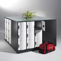 Steel locker / secure / for sports facilities