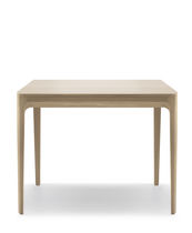 Contemporary table / oak / rectangular / square