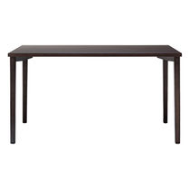 Contemporary work table / beech / rectangular / for public buildings